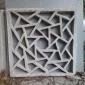 供应装饰围墙的66*66*7强度高水泥花窗